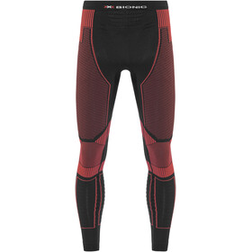 X-Bionic M's Effektor Power Running Pants Long Black/Red